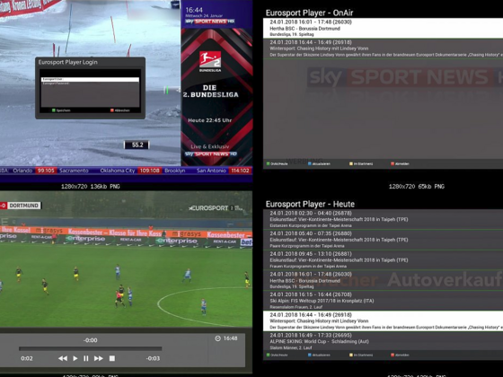 Eurosport Player Plugin