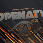 bootlogo openatv orange 1920x1080 linuxsat-support by oktus