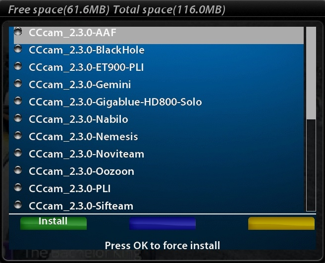 SCARICARE CCCAM 2.3.0